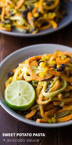... Black Beans and Creamy Avocado Sauce, an easy 30-minute vegan dinner