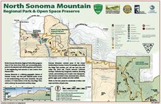 North Sonoma Mountain Regional Park and Open Space Preserve. Sonoma County's newest park!  Hike through to Jack London State Park! Scenery for miles!