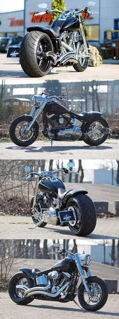 Our latest Harley-Davidson Fat Boy project at #Thunderbike