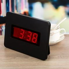 Digital wall clocks are clocks which display the time of hours and minutes, in traditional (Arabic) numerals. Digital Wall, Wall Clocks, Digital Alarm Clock, Top 14, Coloring Books, March, Floral, Vintage Coloring Books, Chiming Wall Clocks