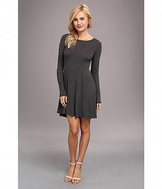 BCBGeneration L/S Fit and Flare Dress (Heather Grey Tweed) Women's Dress Cyber Monday Black Friday Walmart Fit N Flare Dress, Fit And Flare, Stylish Dresses, Dresses For Work, Bcbgeneration, Heather Grey, Cold Shoulder Dress, Vintage Fashion, My Style
