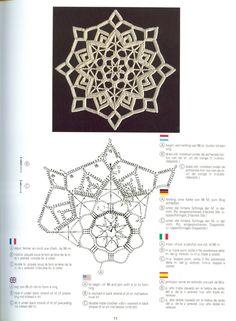 Breathtaking Crochet So You Can Comprehend Patterns Ideas. Stupefying Crochet So You Can Comprehend Patterns Ideas. Crochet Snowflake Pattern, Crochet Stars, Christmas Crochet Patterns, Crochet Snowflakes, Crochet Doily Patterns, Crochet Diagram, Thread Crochet, Crochet Designs, Crochet Flowers