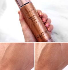 5 Best Glowy Makeup Products from the Drugstore | Slashed Beauty #bronzer #highlighter #selftanner #bodybronzer