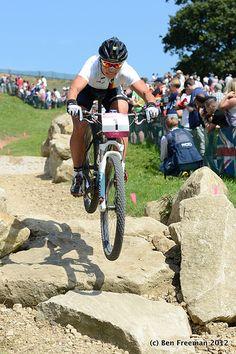 Sabine Spitz, Olympic Mountain Bike Race 2012