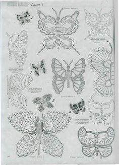 Butterflies, Free pattern