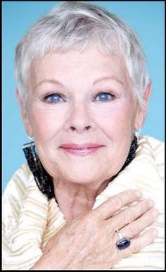 """These pictures of actresses over 50 illustrate how light makeup colors are more flattering to aging skin and lighter hair. Notice how light the eyebrows are and how they are wearing just a bit of eyeliner and mascara. . The Ladies aren't wearing heavy, dark lip liner or dark lipstick which can be very aging. Professional make up artists know that """"less is more"""" on aging skin."""
