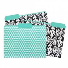 Capri Designs File Folder - Aztec Ikat