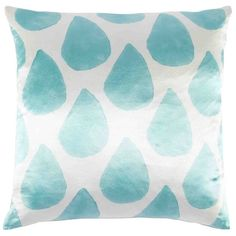 John Robshaw Textiles - Hasan Decorative Pillow - Droplet - PILLOWS