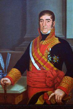 Retrato de El Excelentísimo Señor Don Juan Ruiz de Apodaca Autor desconocido Escuela Mexicana Siglo XIX Óleo sobre tela 103 x 81 cm. Colección Museo de Historia Mexicana