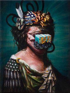 24 peintures étranges de Christian Rex van Minnen   Ufunk.net