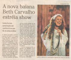 #BethCarvalho 2007 O Globo