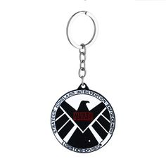 e05bada19c855 DC Marvel Comic Super Hero Series Keychain High Quality Metal Spider-Man  Superman