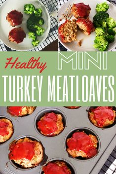 Mini turkey meat loaves with hidden vegetables inside! Great for meal prepping and getting your little ones to eat their veggies :)