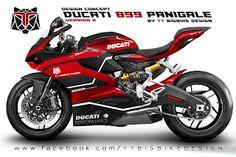 TT BIGBIKE DESIGN: DESIGN COCEPT OF COLOR PATTERNS  DUCATI 899 PANIGA...