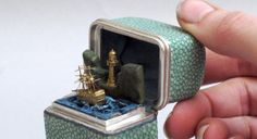 The Automaton Ship and Silver Shagreen Case