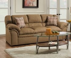 Elza Sofa by Simmons Upholstery