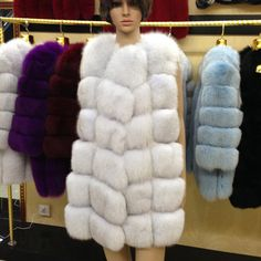 Real Fox Fur Vest Women 2015 Winter New Fashion Slims Medium Long Genuine Natural Mink Fur Vests Female Casacos Mex Fur Poncho US $291.99-401.49 To Buy Or See Another Product Click On This Link  http://goo.gl/yekAoR