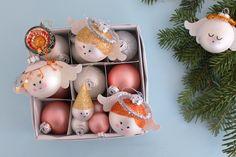 Julekugle Lucia Engle – DIY | Den Kreative Sky