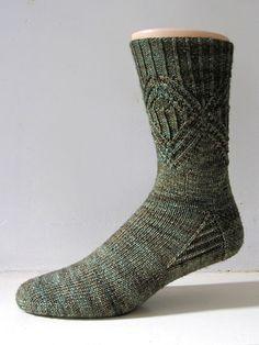 Ravelry: Bernice pattern by General Hogbuffer Free Sock pattern