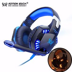 Kotion EACH G2000 Computer Stereo Gaming Headphones Best casque Deep Bass  Game Earphone Headset with Mic dbb29548053a3