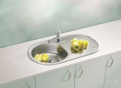 AS-Fremont 40 unique sinks stainless Stainless Steel Double Sink, Undermount Stainless Steel Sink, Undermount Sink, Stainless Kitchen, Online Furniture, Home Furniture, Bathroom Sink Faucets, Kitchen Sinks, Inset Sink
