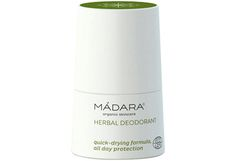 Madara Organic Herbal Deodorant Roll On Oily Skin Care, Skin Care Tips, Charcoal Soap, Salvia, Natural Cleaning Products, Organic Skin Care, Quick Dry, Body Lotion, Herbalism