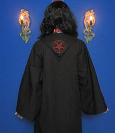 Satanic Rituals, Complex Systems, Baphomet, Occult, Crosses, Magick, One Size Fits All, Cotton Fabric, Objects