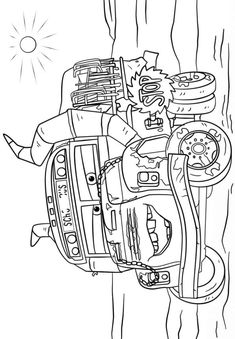 Ms Fritter Coloring Page