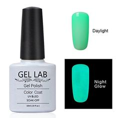 GEL LAB Hot Sale Luminous Gel Nail Polish Candy Color Fluorescent Night Glow In Dark For Beauty Women UV Nail Gel Polish 24 colors for Choose YG012 ** Read more reviews of the product by visiting the link on the image.Note:It is affiliate link to Amazon.