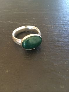 Handmade sterling silver ring with a beautiful by GGsGems16, $53.00