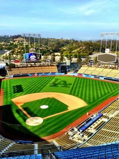 One thing on my bucket list is to go to a Dodger game at Dodger stadium in Los Angeles California. Dodgers Nation, Let's Go Dodgers, Dodgers Girl, Dodgers Baseball, Dodgers Party, Nfl 49ers, Dodger Game, Dodger Stadium, Baseball Park