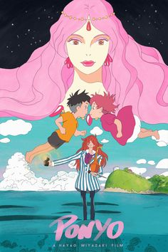 Ponyo on the Cliff by the Sea - PosterSpy