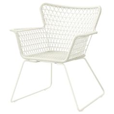 HÖGSTEN Armchair, outdoor - white. Shop IKEA® - IKEA