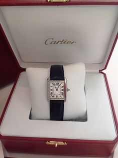 Authentic Cartier Tank Solo Watch Small New | eBay
