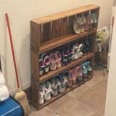 「靴収納」って悩みの種。買った箱のまま玄関