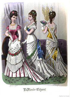 Le Monde Elegant 1878 April