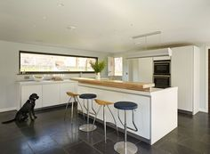 South Devon Kitchen Project | Sapphire Spaces.The bulthaup b1 kitchen provides functional elegance to this stunning family home. Black Labrador owners own!
