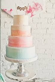 Spring Wedding Cakes: Four-Tiered Watercolor Wedding Cake Gorgeous Cakes, Pretty Cakes, Cute Cakes, Pastel Wedding Cakes, Cool Wedding Cakes, Watercolor Wedding Cake, Pastel Watercolor, Naked Cakes, Ombre Cake