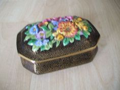 Electronics, Cars, Fashion, Collectibles, Coupons and Coin Purse, China, Box, Floral, Plants, Vintage, Black, Home Decor, Fashion