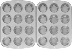Wilton Recipe Right Nonstick 12-Cup Regular Muffin Pan (2, STANDARD) >>> Additional details at the pin image, click it @