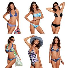 Costume-Mare-Donna-POMPEA-Vari-Modelli-Taglie-Colori-Assortiti