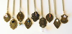 initials necklaces