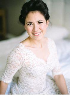 Wedding Dress 50s Style: Lena Hoschek, photo by Pia Clodi