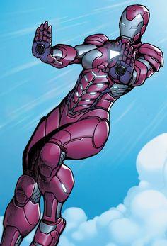 Pepper Potts Rescue Armor
