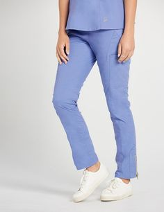 The Moto Pant Ceil Blue