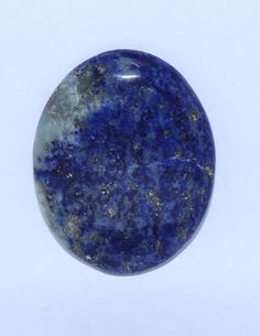 Natural Lapis Smooth Round Cabochon 35x27x5 MM Size by alifaarts