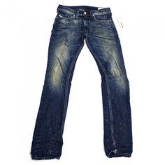 Diesel Thanaz 660Q Mens Jeans   0660Q   Slim   Tapered   Diesel Jean Sale   UK   Designer Man