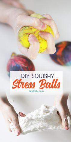 How to Make Squishy Stress Balls: Fun Kids Craft! - landeelu.com