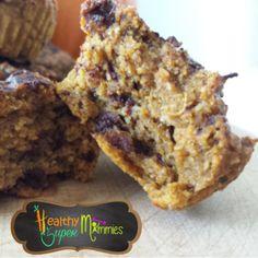 Muffin calabaza, zapallo o auyama #avena #pumpkin #halloweenrecipes #recetashalloween #eatclean
