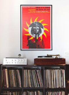 Feito de afeto - Historias de casa #vinyl #LP #GlauberRocha